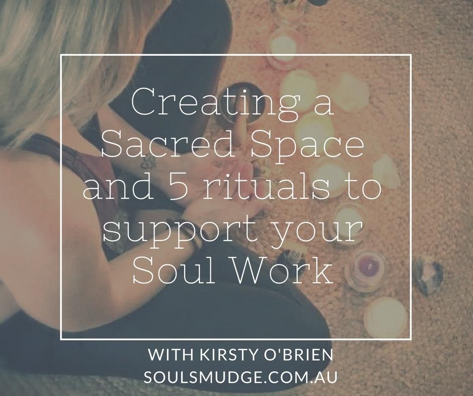 Sacred Spaces + Rituals eBook