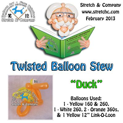 Duck - Twisted Balloon Stew