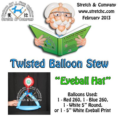 Eyeball Hat - Twisted Balloon Stew