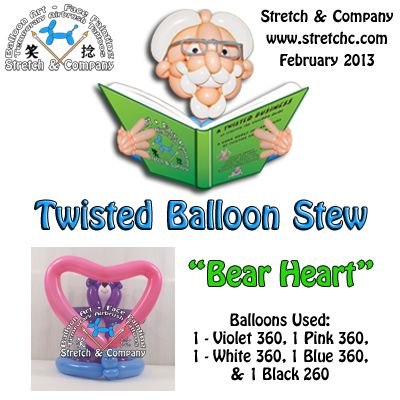 Bear with Heart - Twisted Balloon Stew