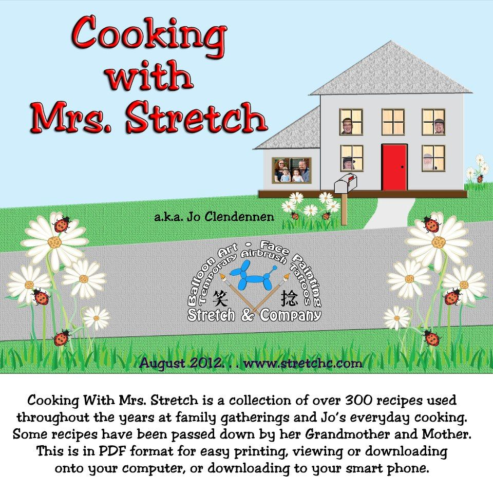 Cooking with Mrs. Stretch