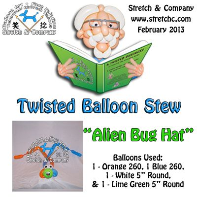 Alien Bug Hat - Twisted Balloon Stew