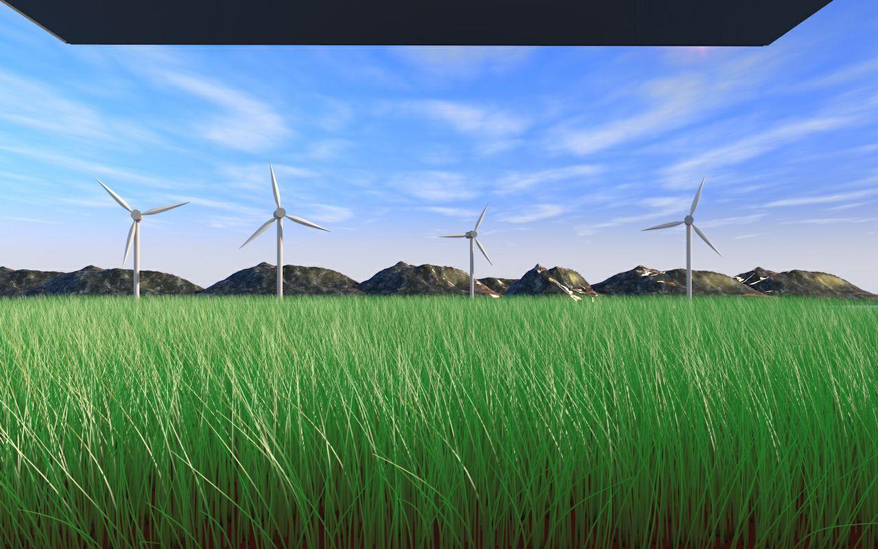 Realistic Field/Landscape
