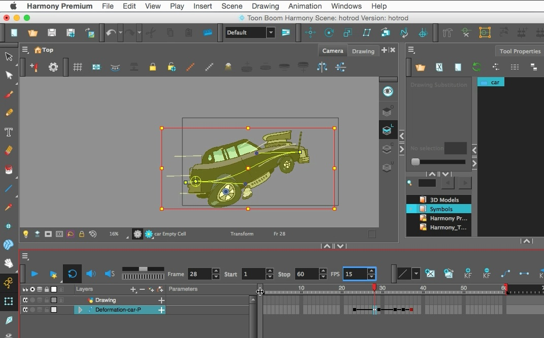 [PRE-SALE] 2D Animation & Cut Out Characters in Toon Boom Harmony 15
