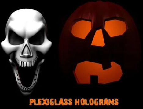 Scary Screens Halloween Holograms