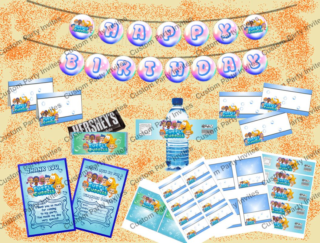 Bubble Guppies Party Package
