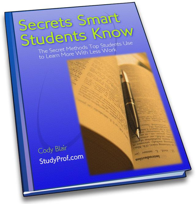 Secrets Smart Students Know eBook