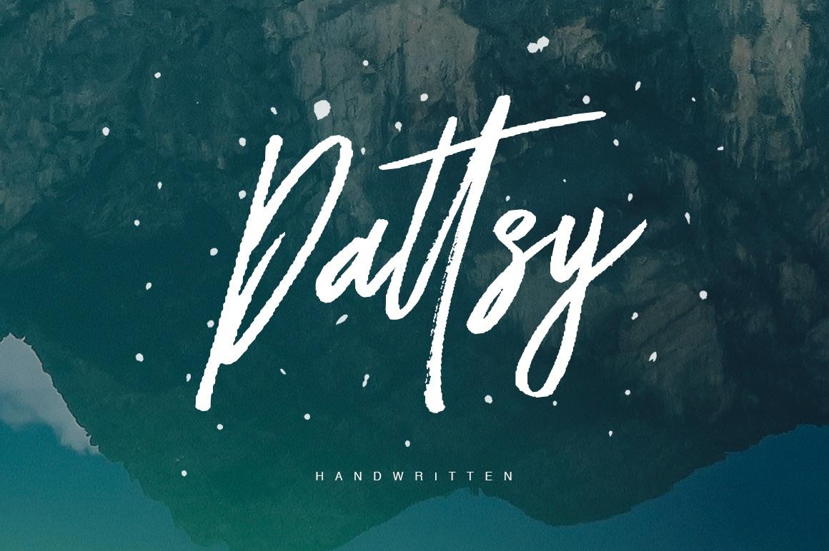 Dattsy Typeface
