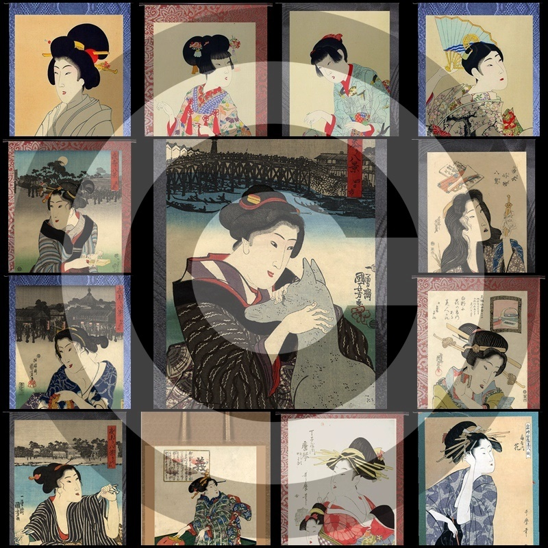 GeishaRoll#6Mesh