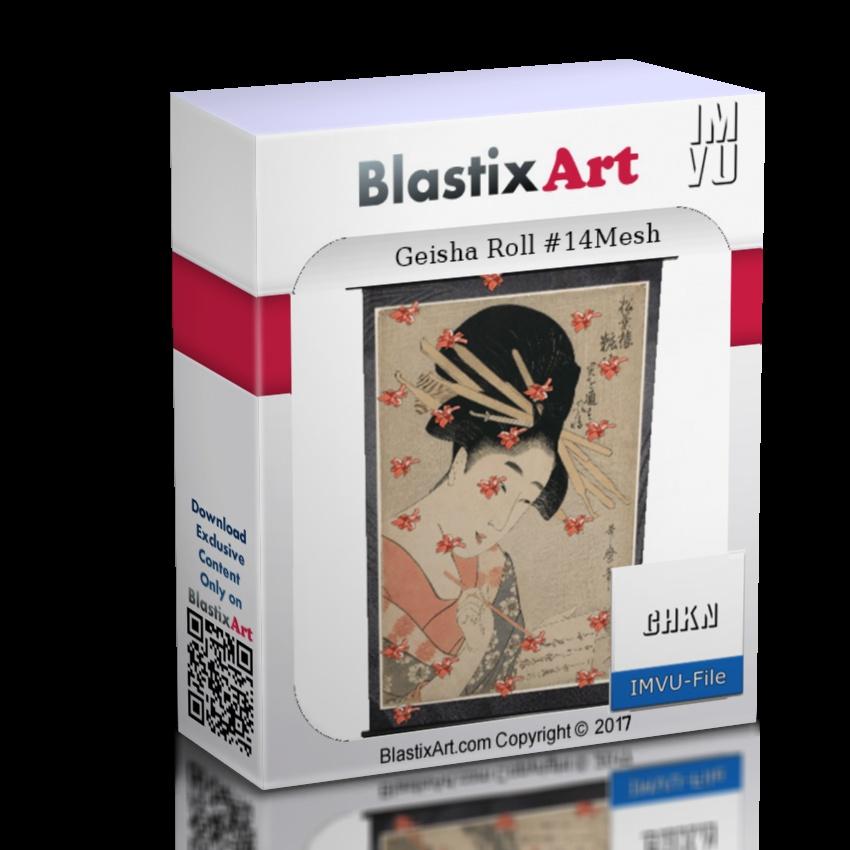 GeishaRoll#14Mesh