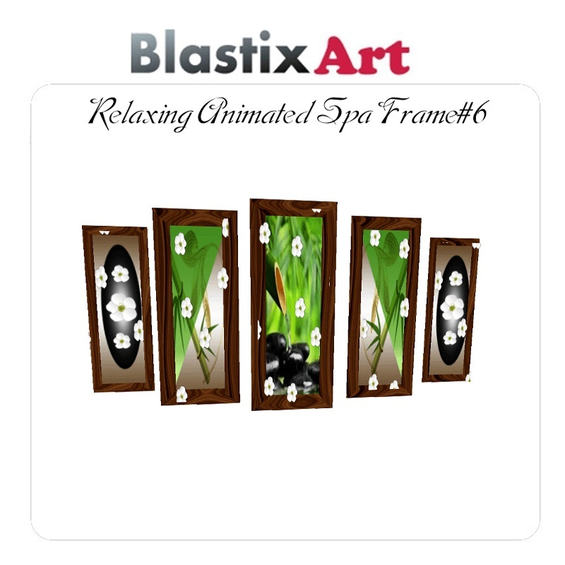 Relaxing Animated Spa Frame#6