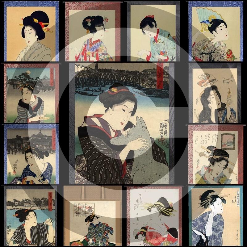 GeishaRoll#7Mesh