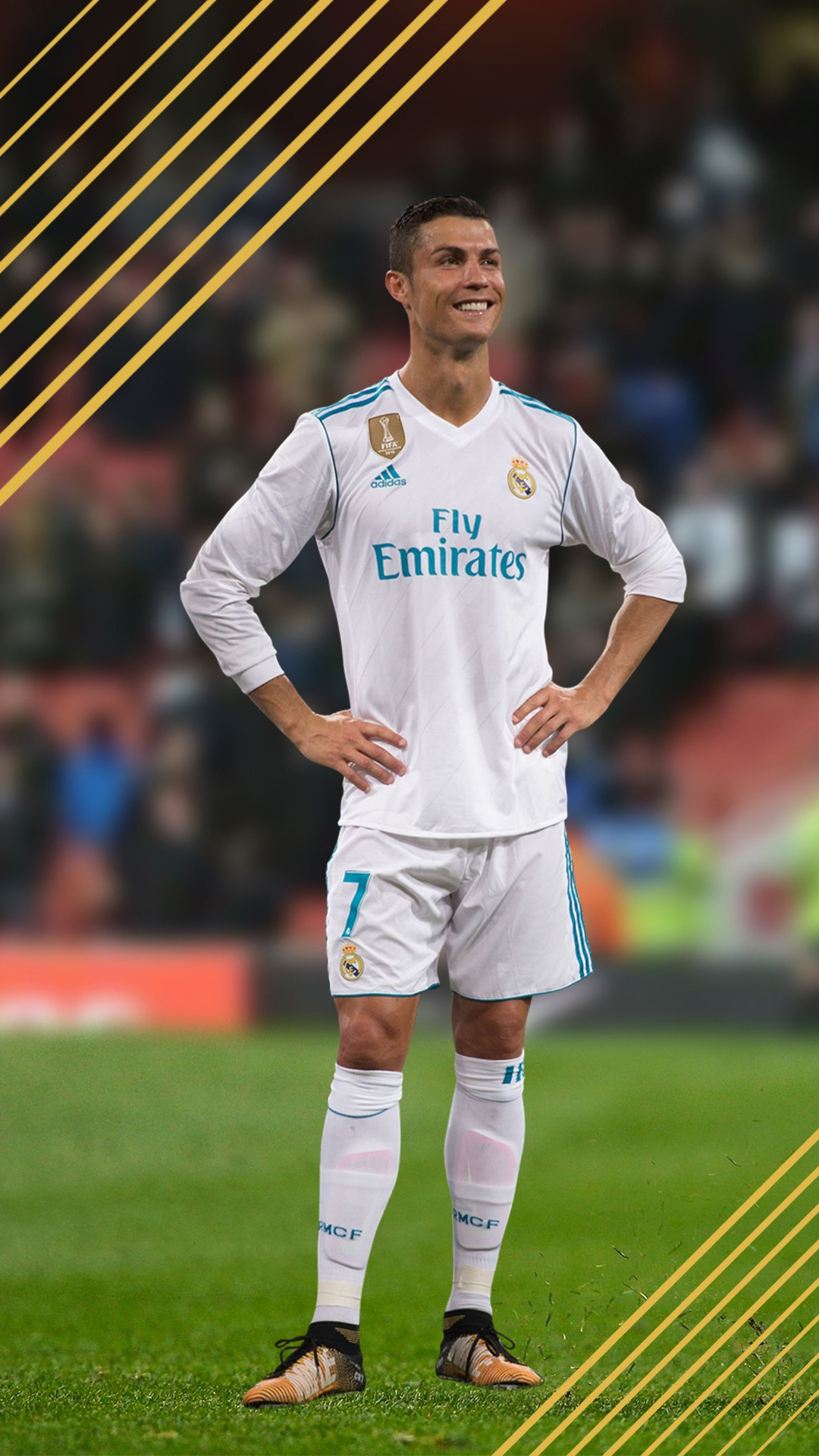 FIFA 18 Ronaldo Smartphone Wallpaper