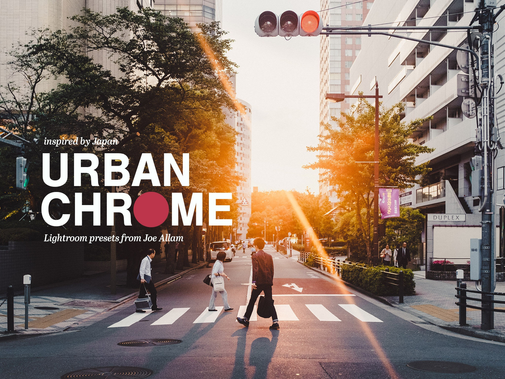 URBAN CHROME — 25x Lightroom Edit Presets