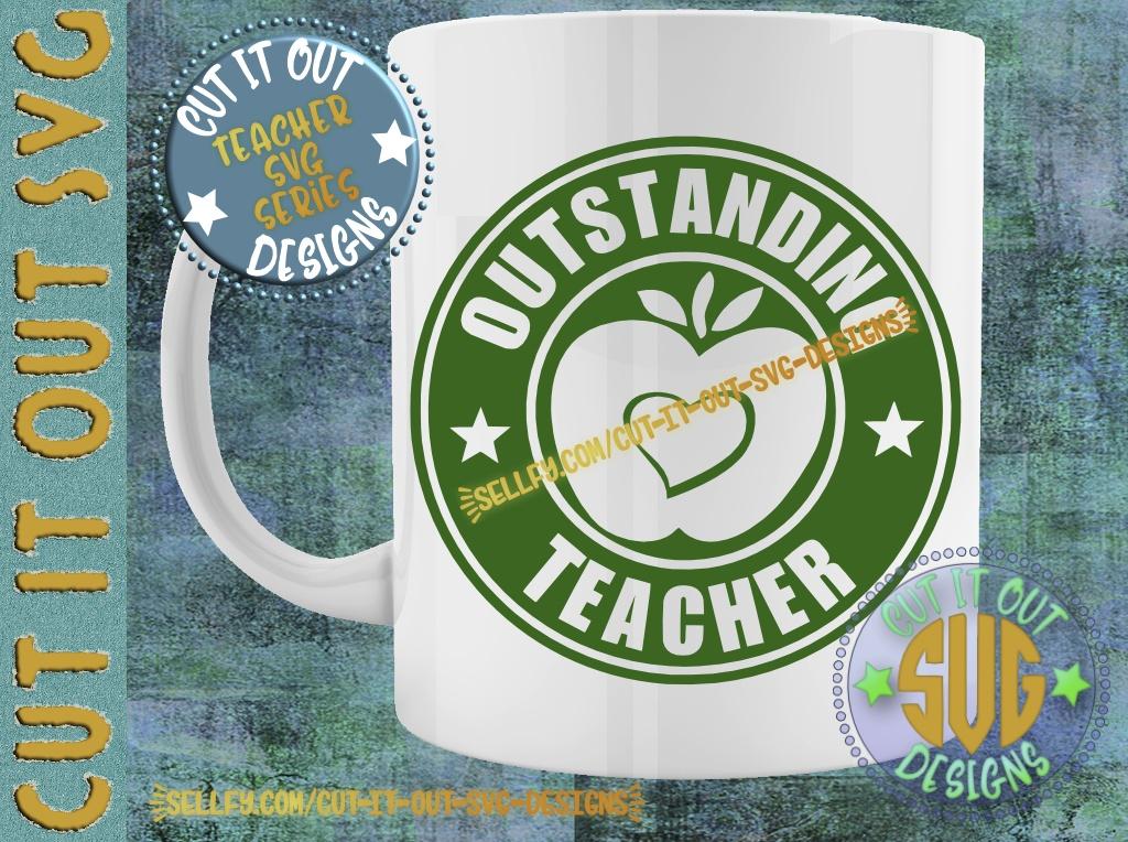 Outstanding Teacher Starbucks Logo Design 3