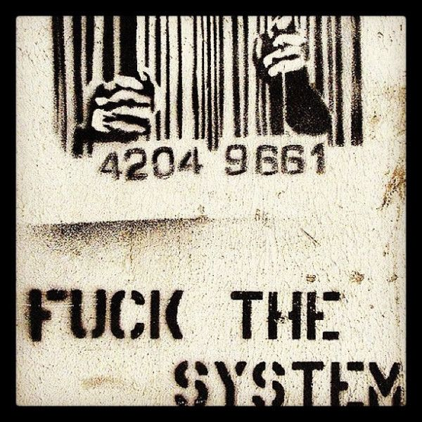 FUCK THE SYSTEM. WOLVOMAN80