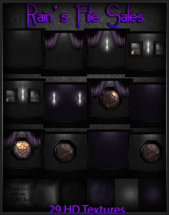 Violet Dark Era -IMVU ROOM TEXTURES