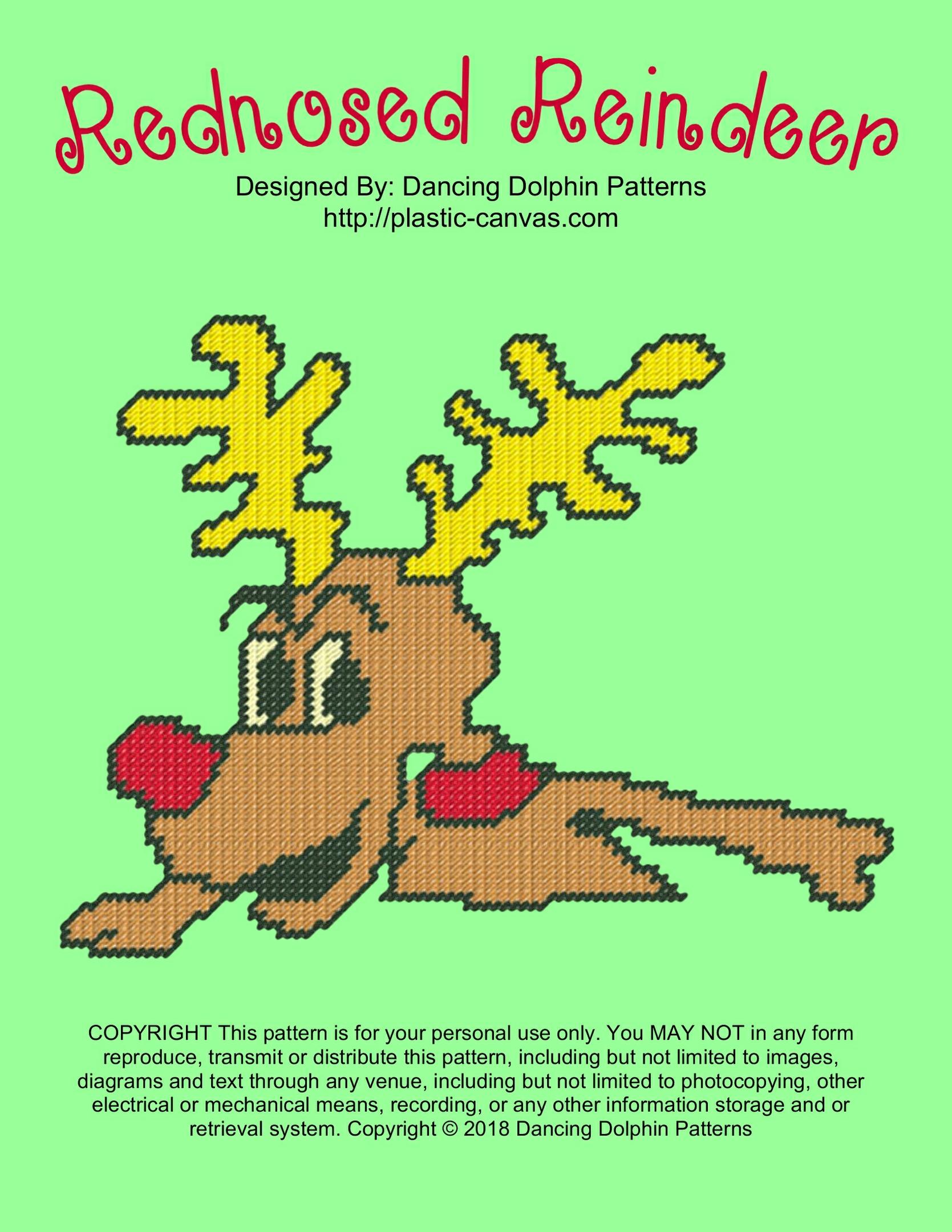 612 - Rednosed Reindeer