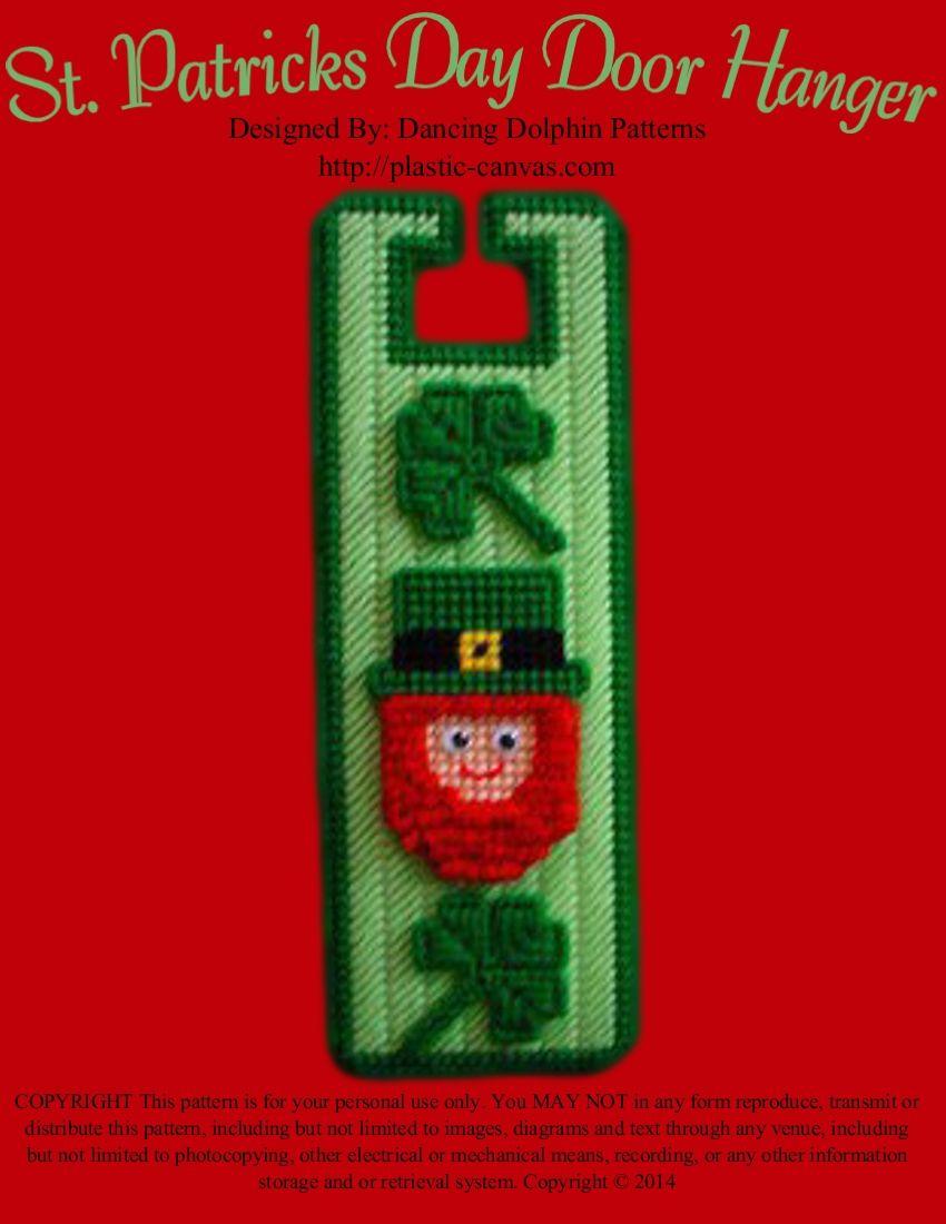 178 - St. Patricks Day Door Hanger