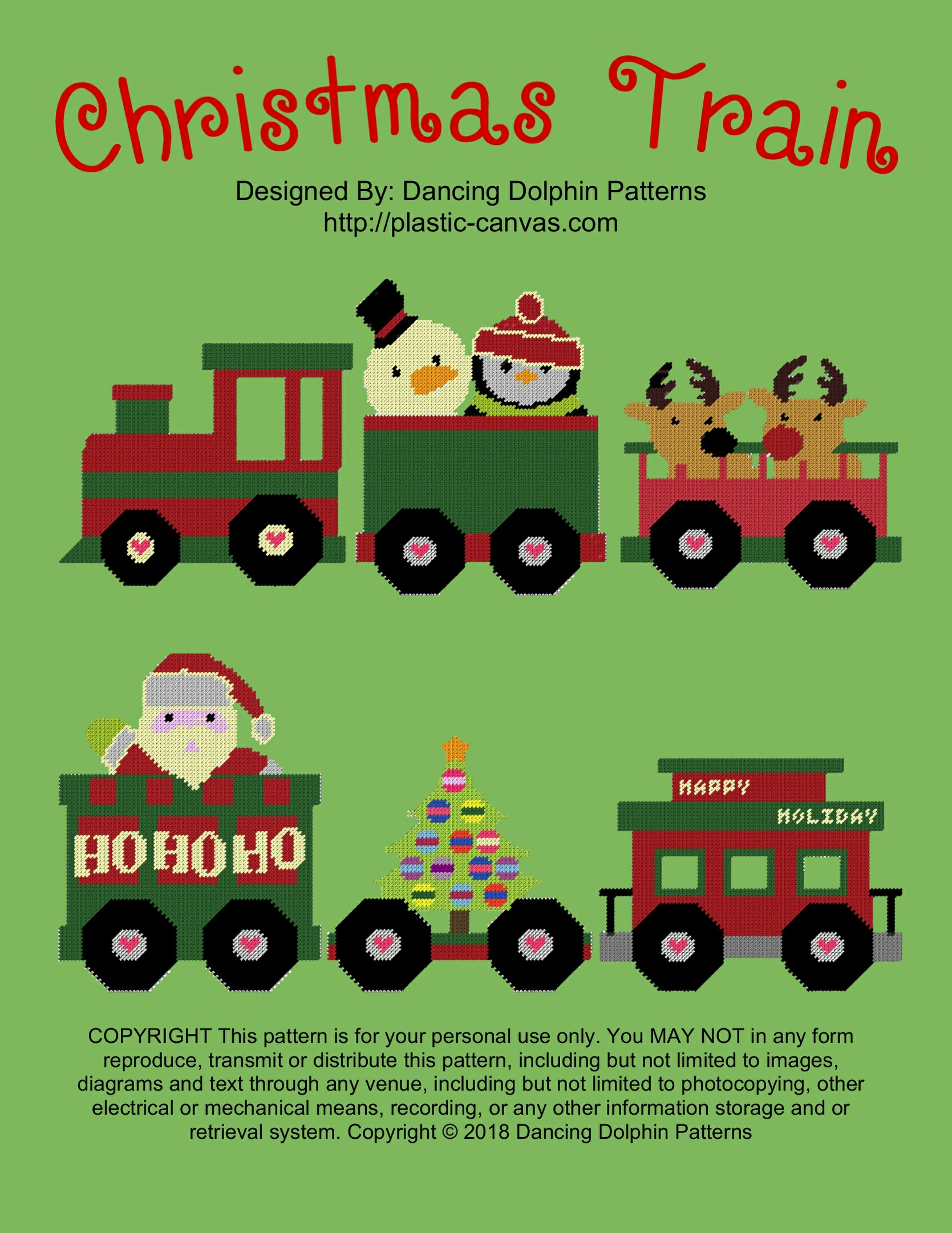602 - Christmas Train