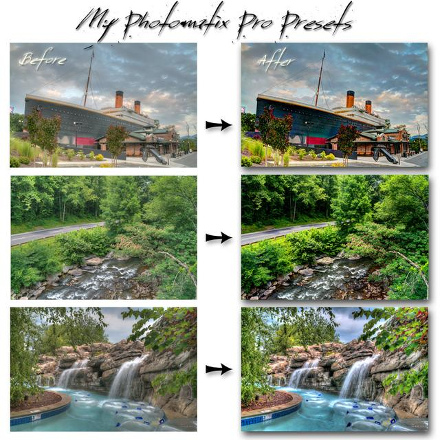 Photomatix Presets Bundle