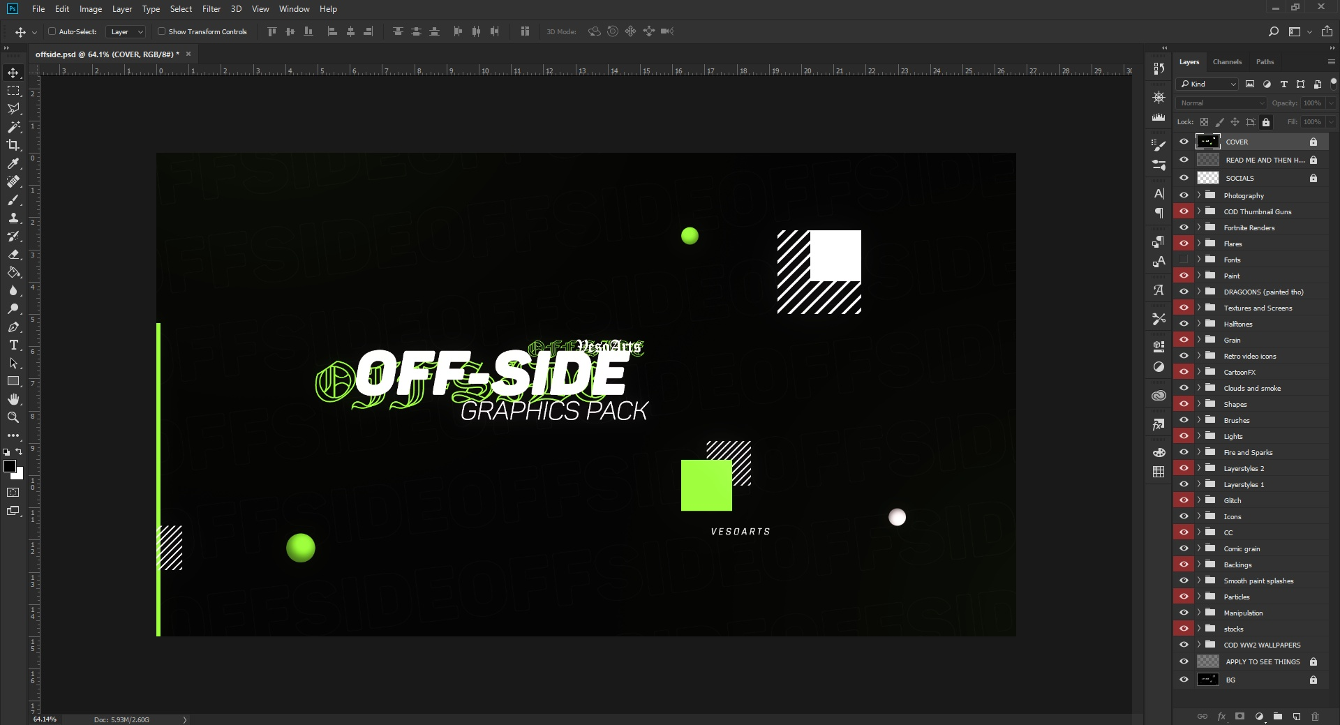 [INSANE] OFF-SIDE GRAPHICS PACK