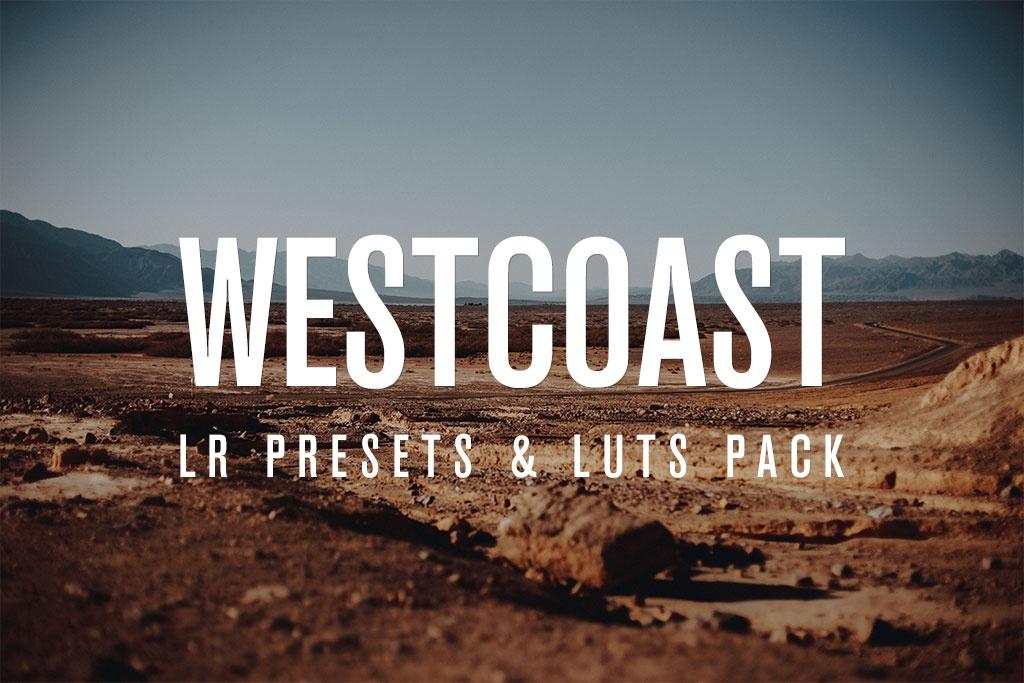 Westcoast | LR PRESETS & LUTS PACK