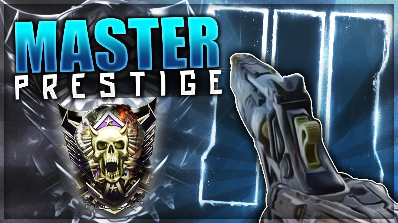 how to get prestige master on black ops 2 ps3