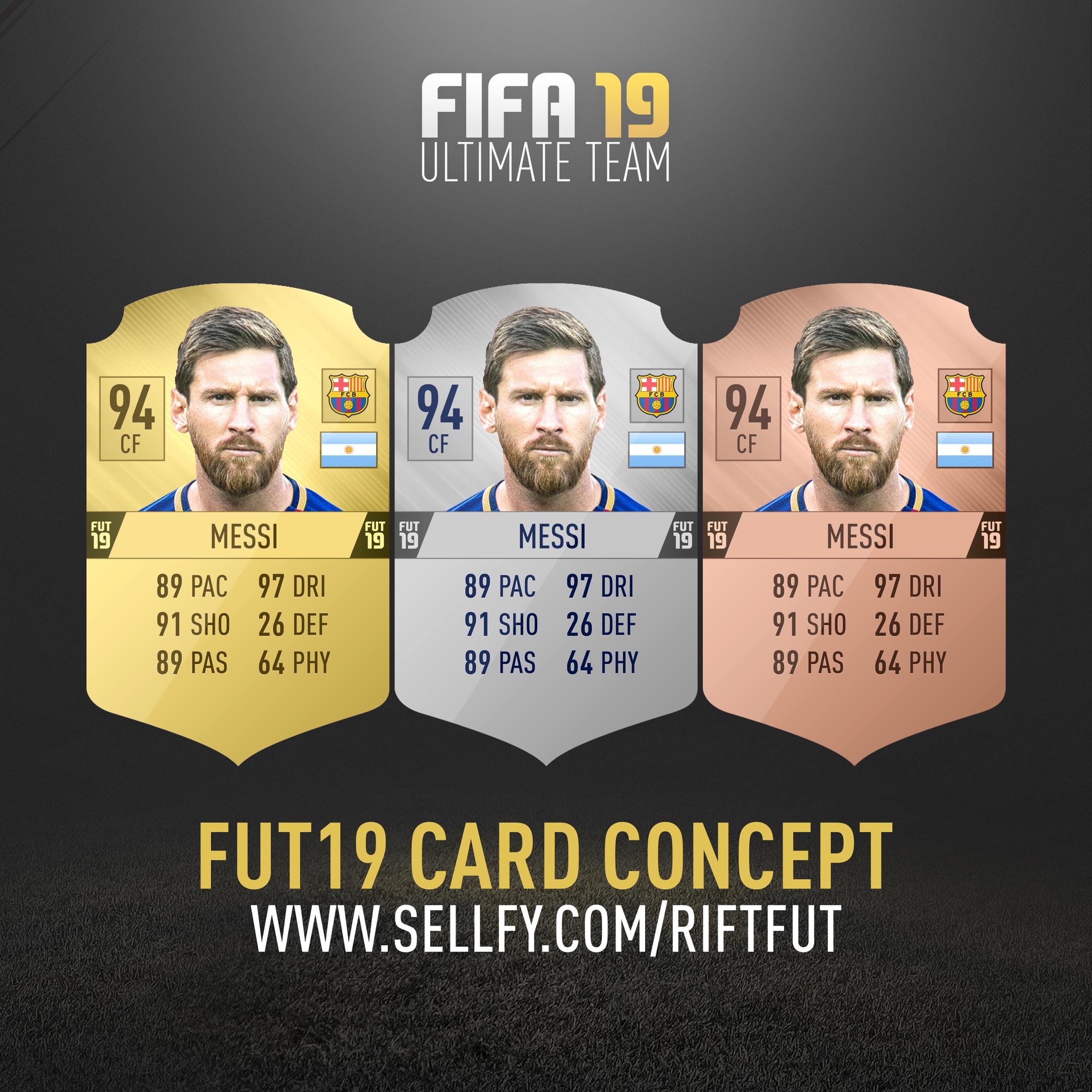 FIFA 19 CARD CONCEPT V2