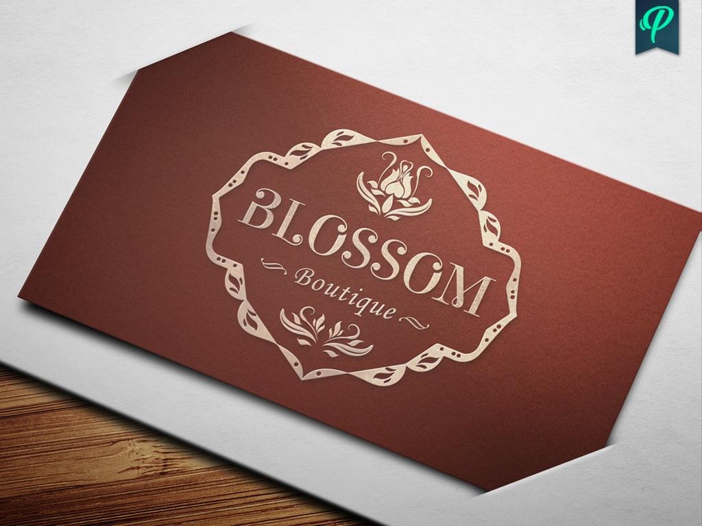 Blossom Boutique Logo Template