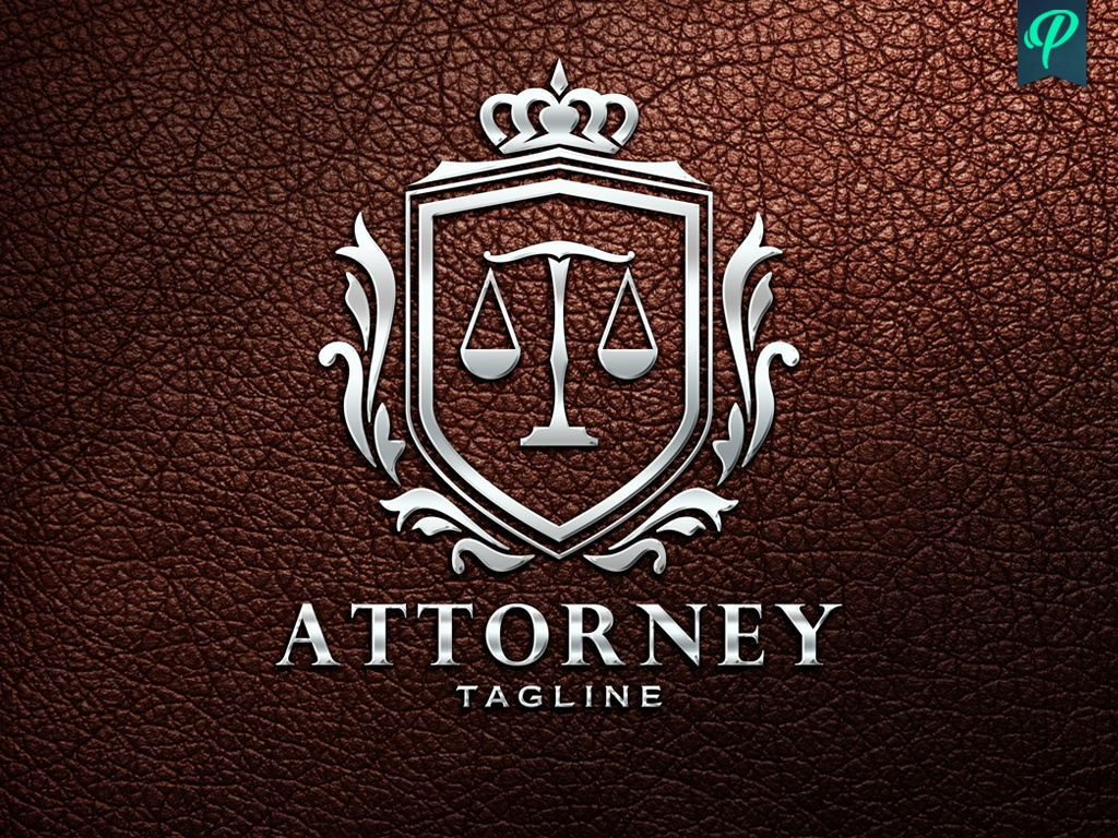 Lawyer, Attorney Logo Template