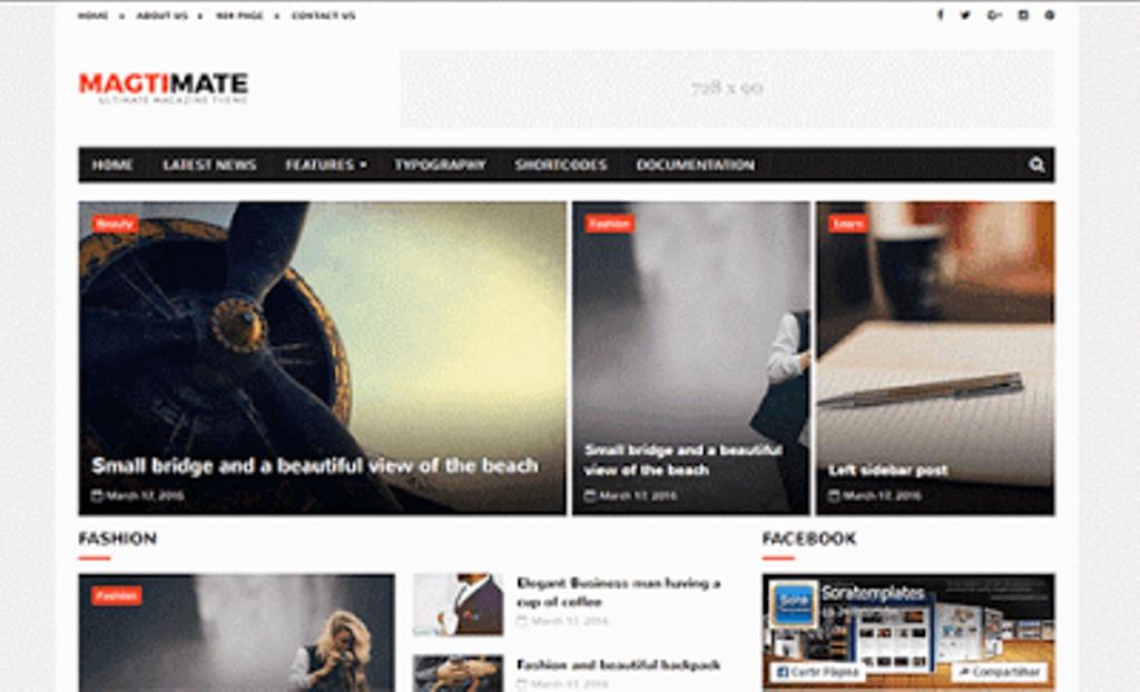 MagtiMate Blogger Template Premium Version