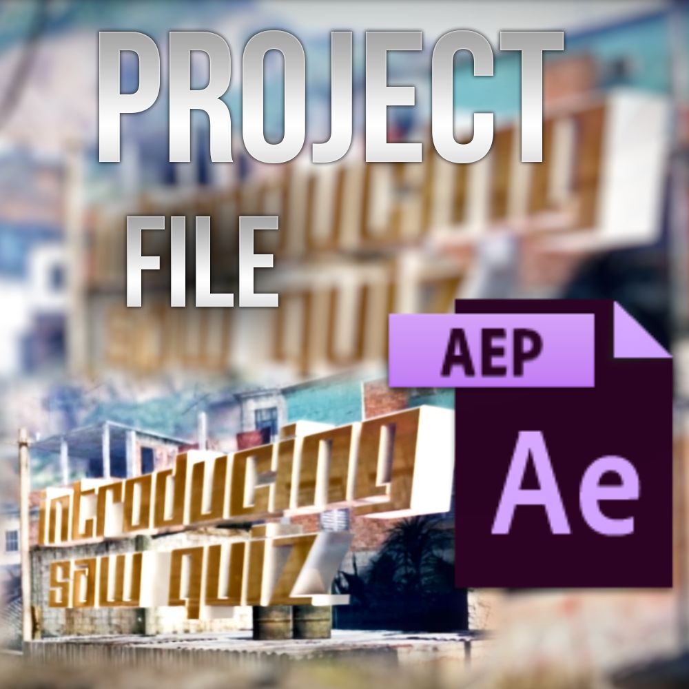 Saw Quiz Project File (AEP)