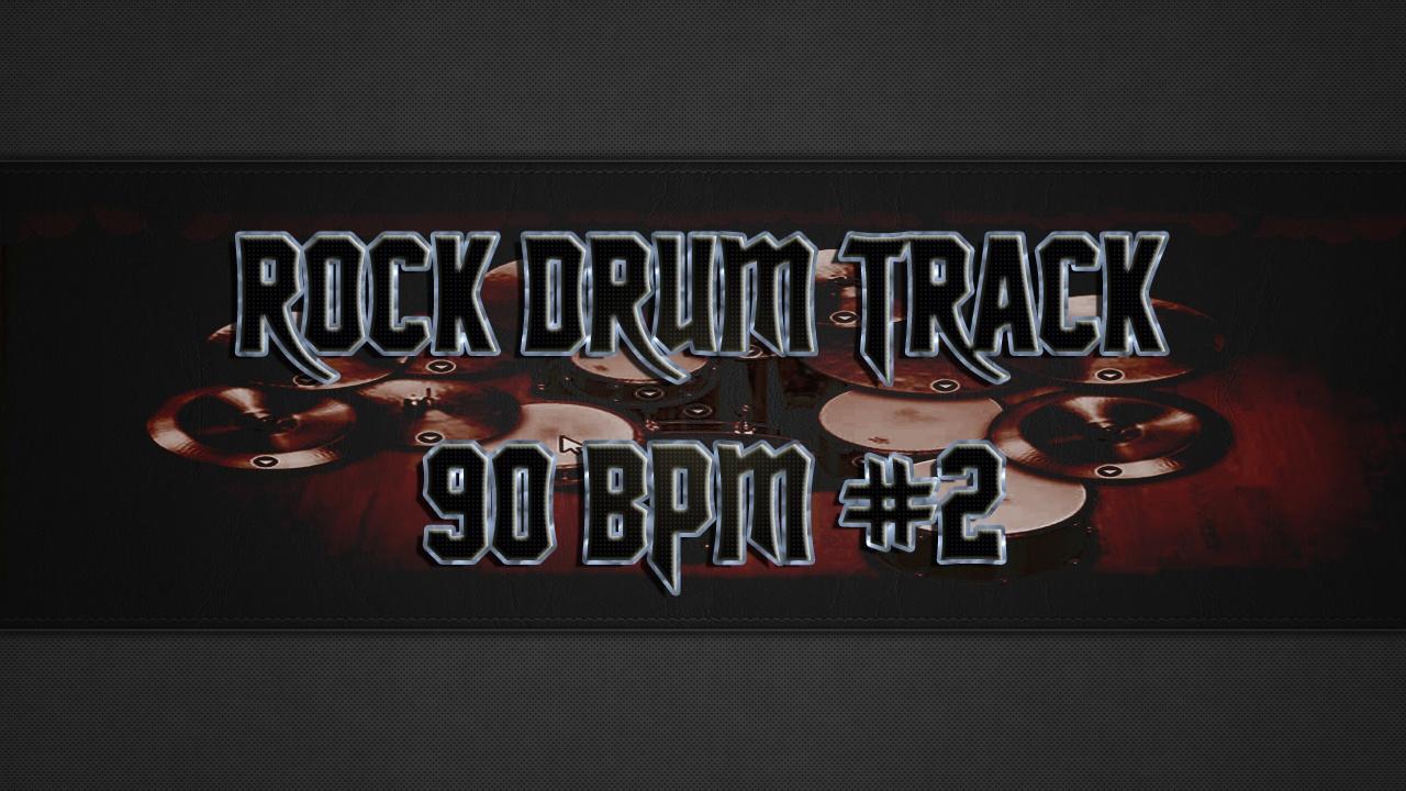 Rock Drum Track 90 BPM #2 - Premium