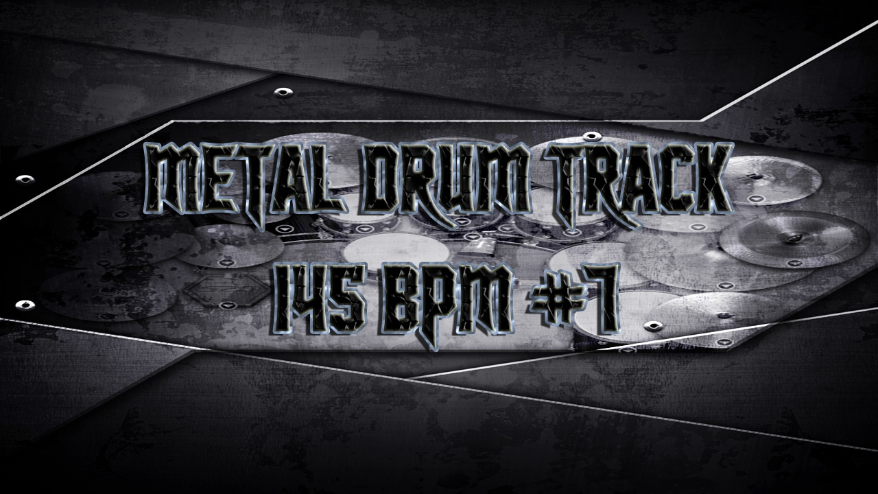 Metal Drum Track 145 BPM #7 - Preset 2.0
