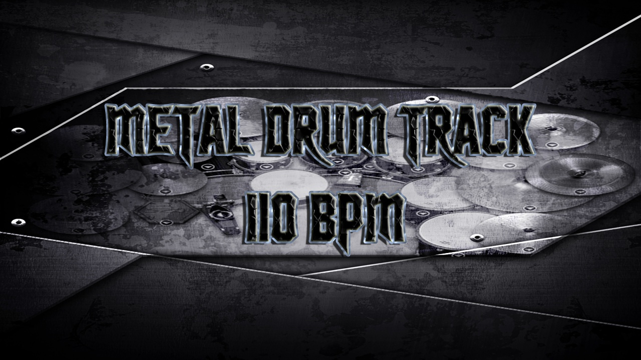 Metal Drum Track 110 BPM - Preset 2.0