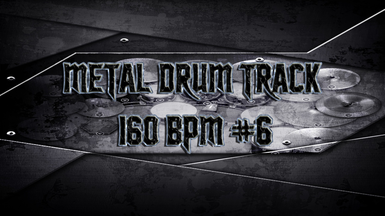 Metal Drum Track 160 BPM #6 - Preset 2.0