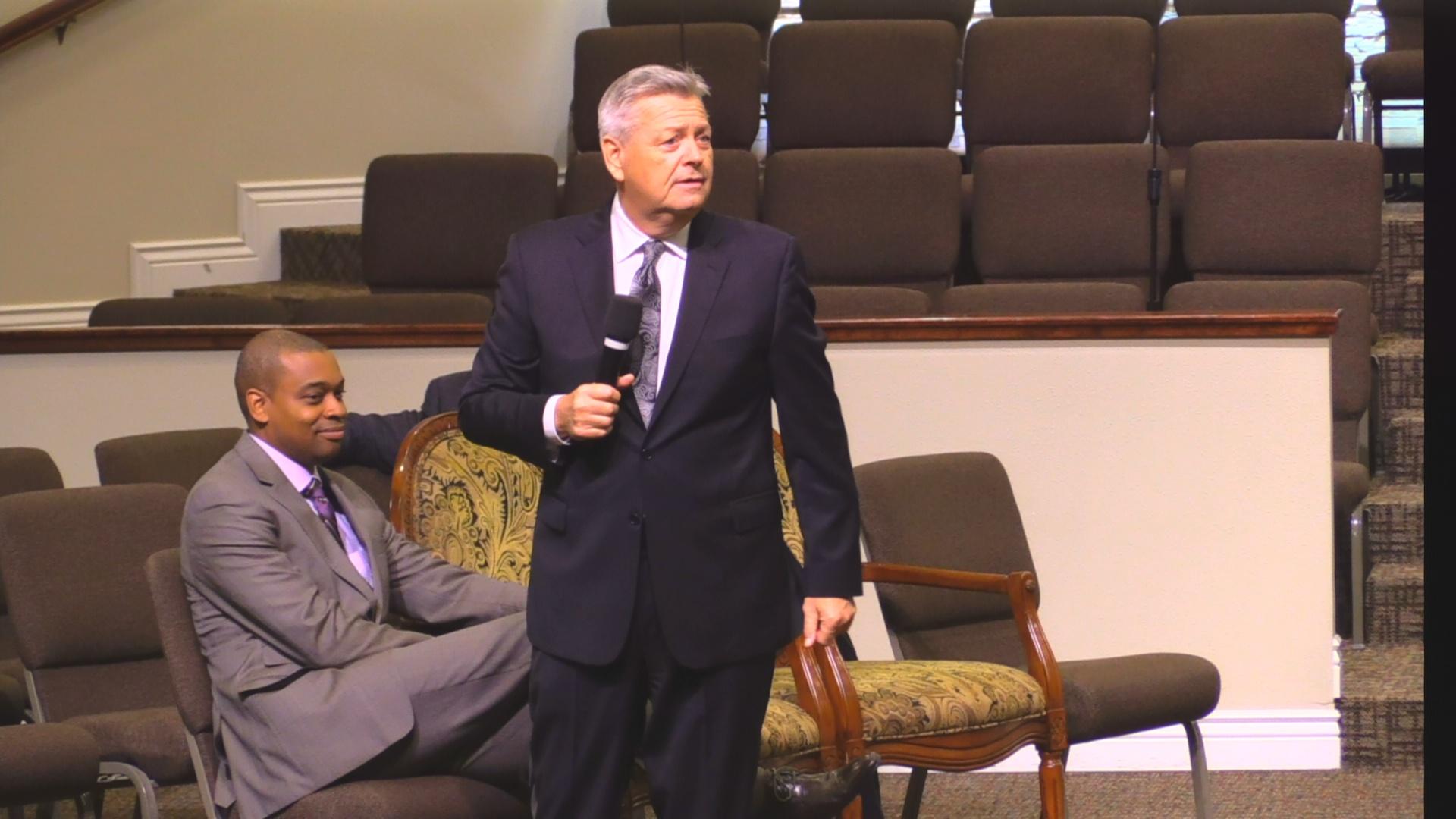 """Rev. Randell Frailey 01-17-18pm """" It's a Faith Fight """" MP4"""