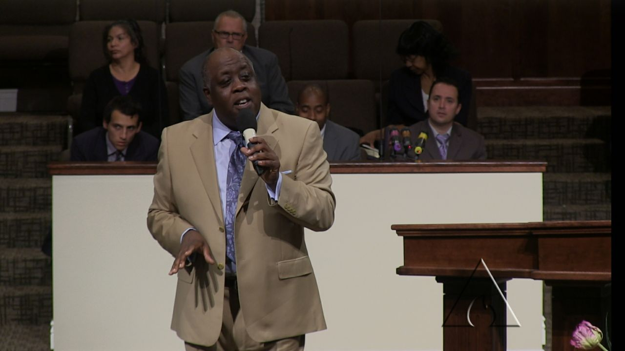 "Pastor Sam Emory ""When Your Enemy Testifies"" 04-06-14 AM MP4 Video"