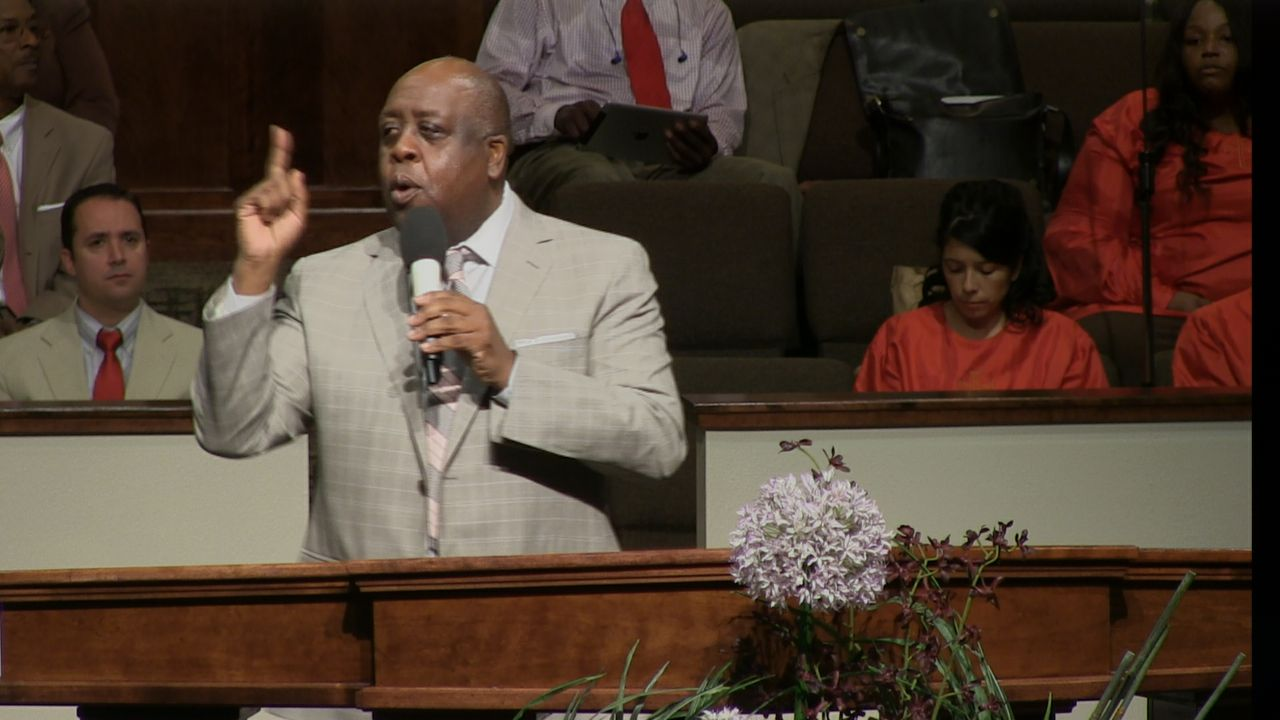 "Pastor Sam Emory ""The Relationship Between Suffering & Power"" 2-09-14 AM MP4"