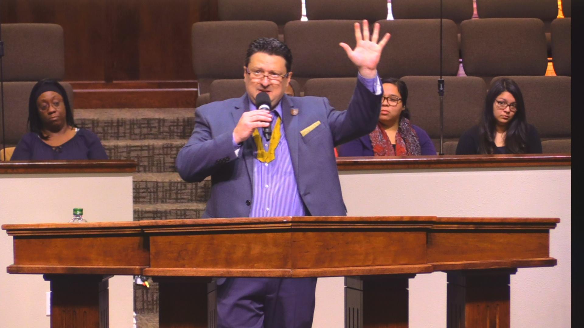 "Rev. Tim Greene 11-05-17am "" Witnesses "" MP4"