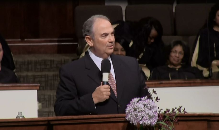 "Rev. Bob Austin "" Turning Your Valleys into Mountains"" 1-26-14 AM (MP4 Video)"