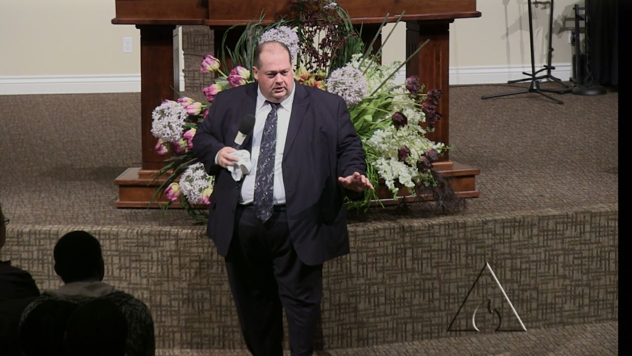 "Rev. Ron Wright ""Addicted to Your Tomb"" 3-26-14 MP4 Video"