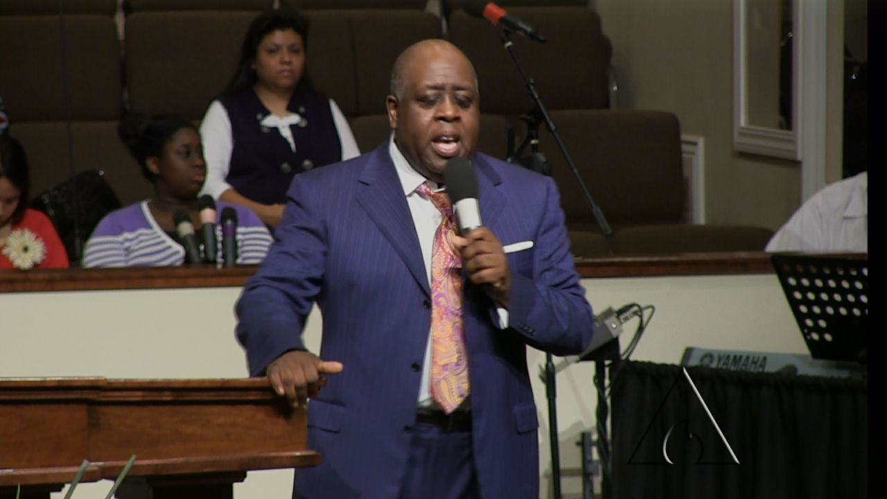 "Pastor Sam Emory ""Strongholds"" 3-30-14 AM MP4 Video"