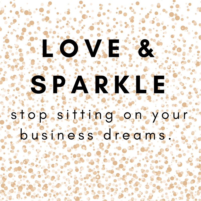 THE LOVE & SPARKLE IDEATION CONSULTING PACKAGE