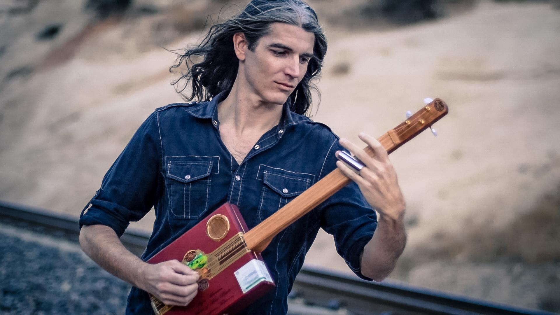 """Gypsy Fusion in Gm"" - Dan Mumm - Song, Guitar Tab and Backing Track 2017"