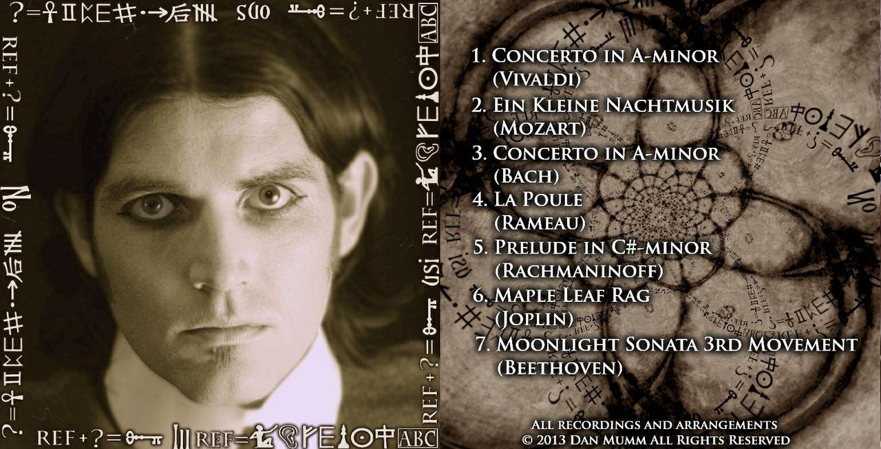 """""""No Illusions"""" EP (2013) - Dan Mumm - Neo-Classical Metal"""