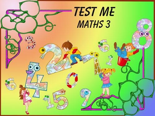 Test Me Maths 3