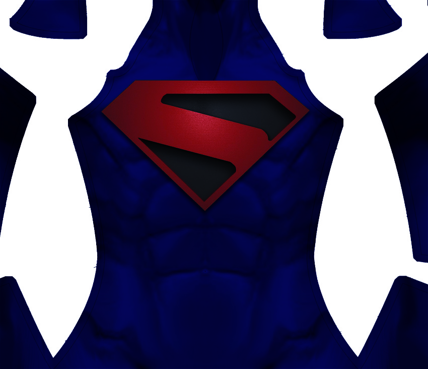 Kingdom Come Superman Dye-Sub Pattern
