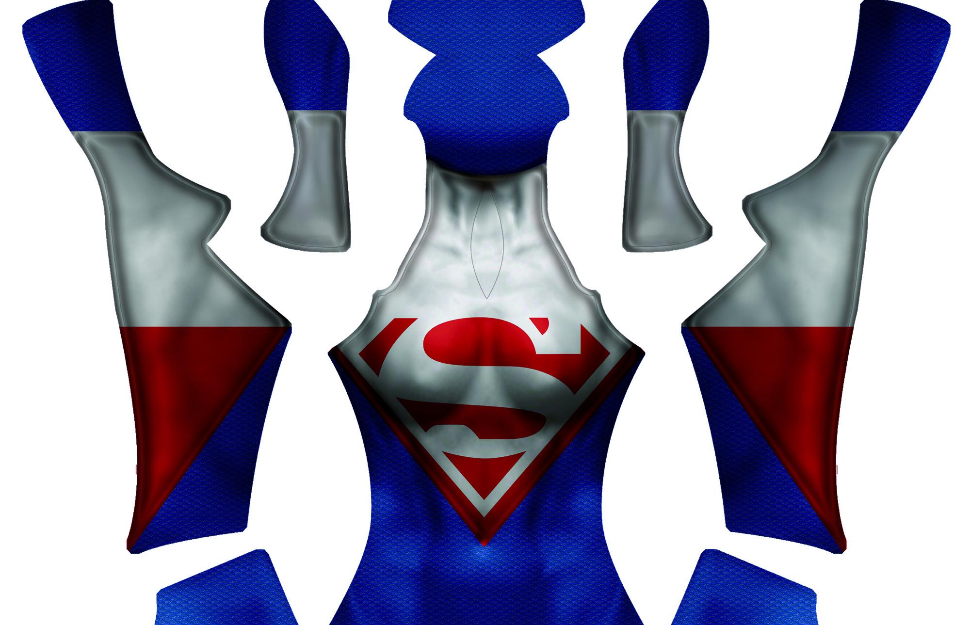 Superwoman Dye-sub Pattern